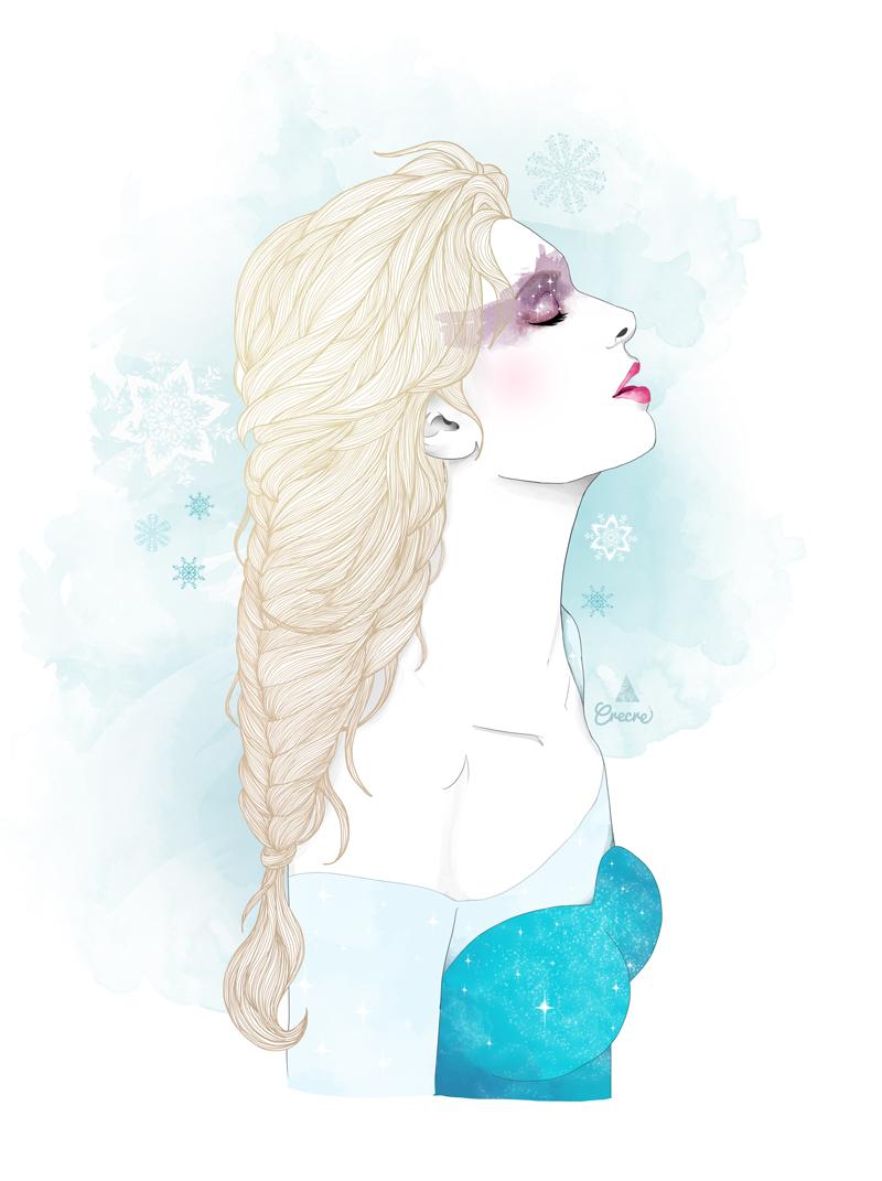Princesse disney crecre - Princesse reine des neiges ...