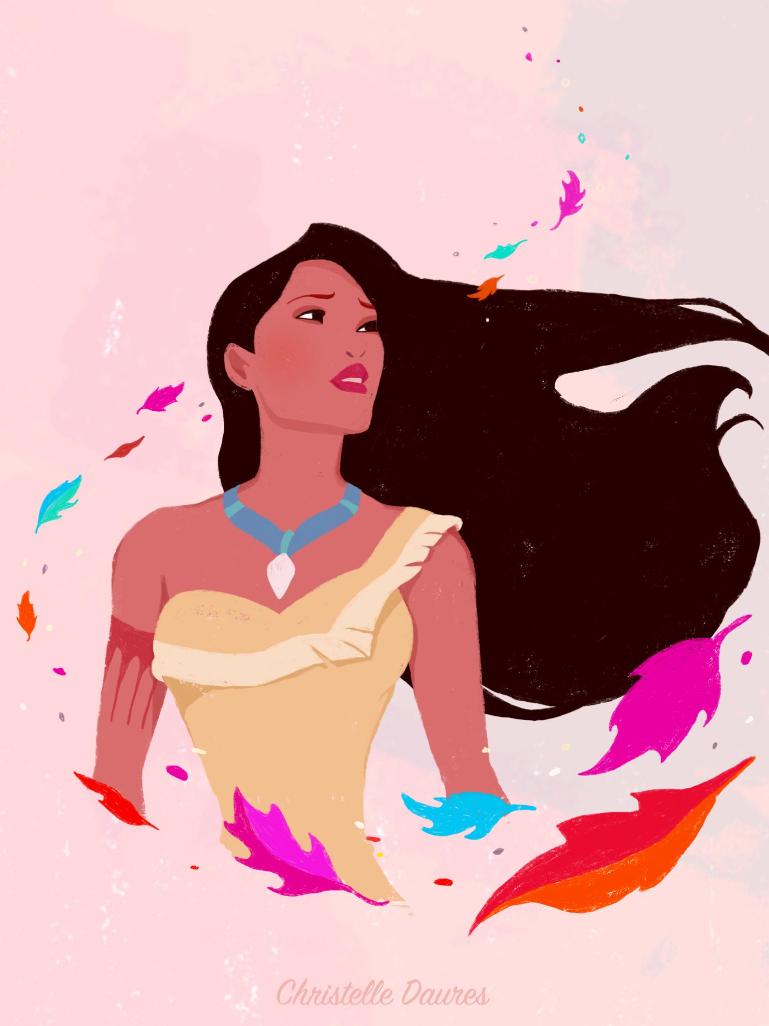Fonds D Ecran Disney Pocahontas Crecre